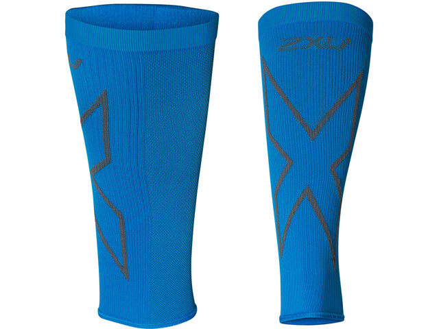 2XU X Compression Kuitmouwen, vibrant blue/grey